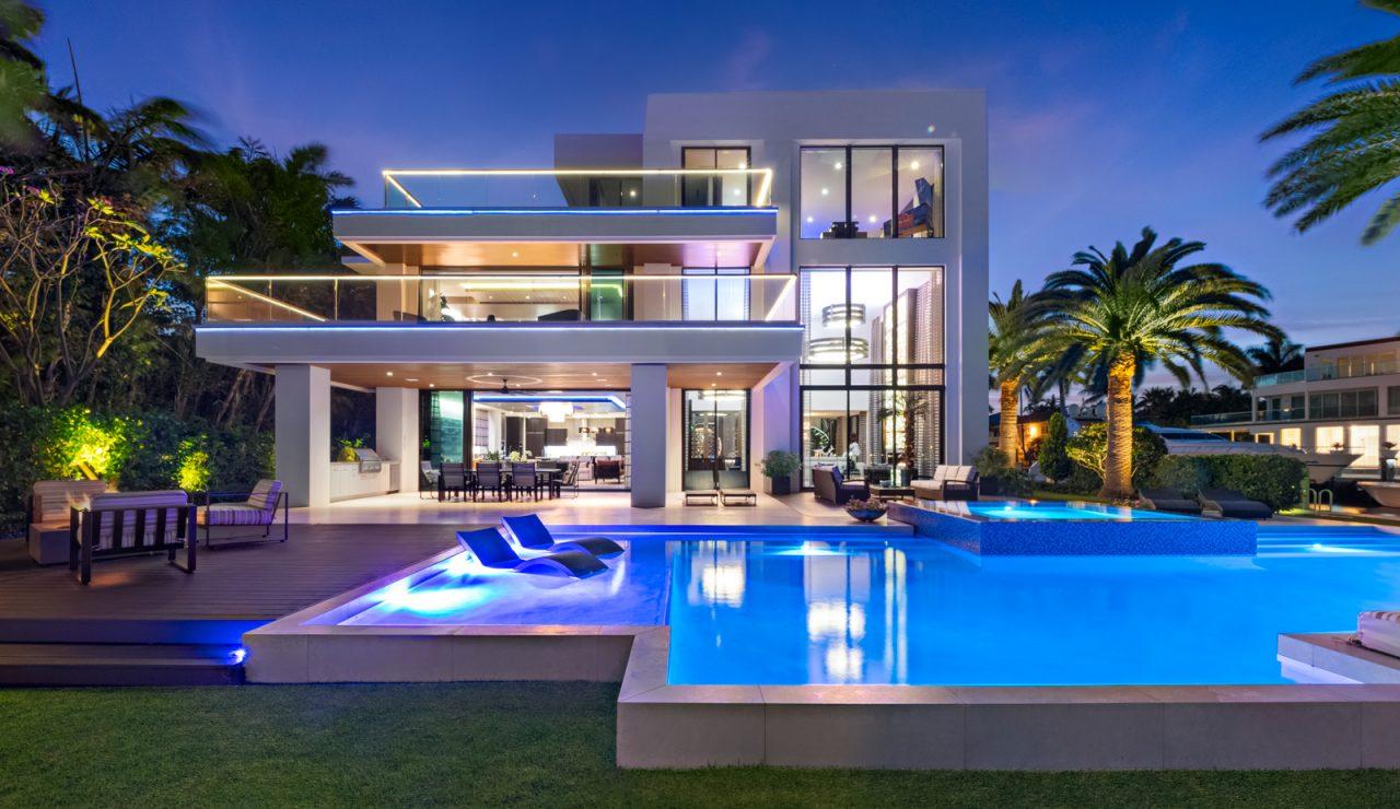 exterior of 2665 Castilla Isle | Florida Luxurious Properties luxury real estate south florida