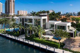aerial shot of 2665 castilla isle | florida luxurious property luxury real estate