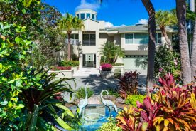 front yard of property   fort lauderdale luxury real estate
