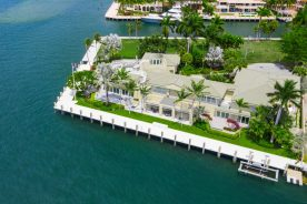 2400 Laguna Drive on the water   waterfront property south florida