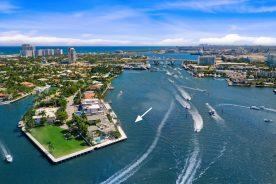 location of 2400 Laguna Drive   Luxury Intercoastal Property In Fort Lauderdale