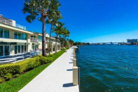 luxury property with intercoastal dock   florida luxurious