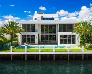 View of Las Olas real estate for sale from the intracostal