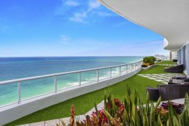 Image of 1 N Fort Lauderdale Beach Boulevard #2302 Balcony overlooking ocean| Florida Luxurious condos | Luxury Condo in Fort Lauderdale | Luxury property for sale | luxury property for rent in fort lauderdale