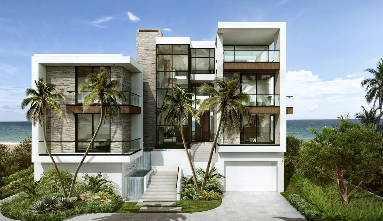 Exterior of 999 Hillsboro Mile | Luxury Real Estate South Florida | Florida Luxurious Properties